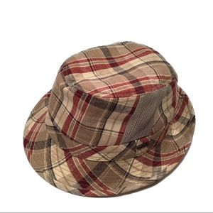 New Ravello Plaid Fedora Hat
